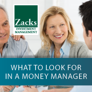 What to Look for in a Money Manager